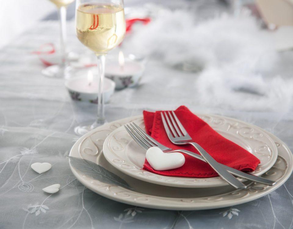 Ideas para preparar la mesa perfecta del día de los enamorados